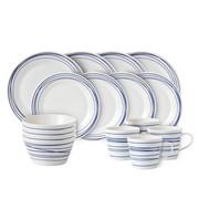 Royal Doulton - Set de vaisselle 16 pièce Pacific Lines