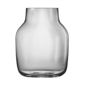 Muuto - Silent Vase - grau/Größe 2: Ø15cm