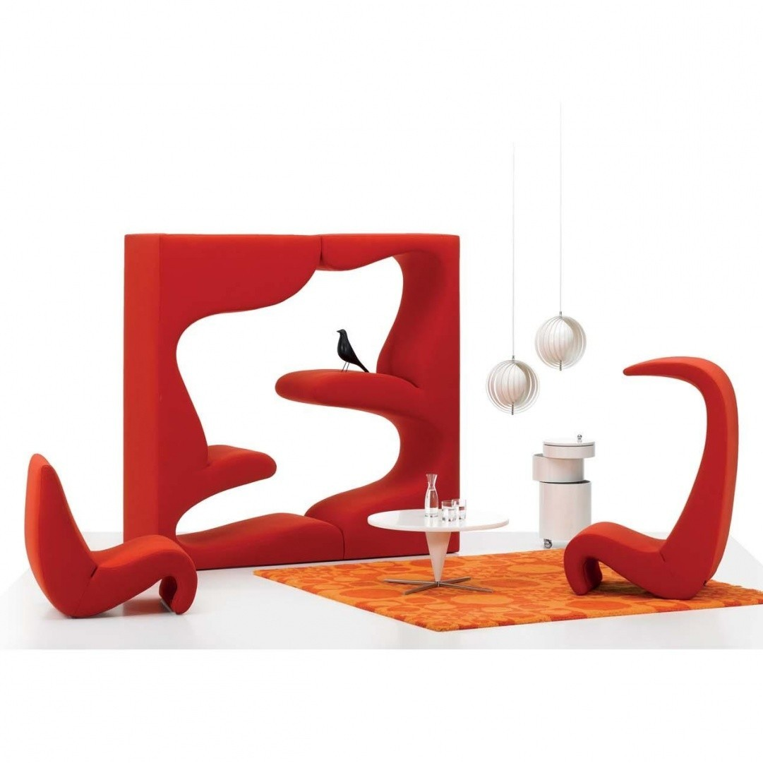 Picture of: Vitra Amoebe Highback Lounge Chair Ambientedirect