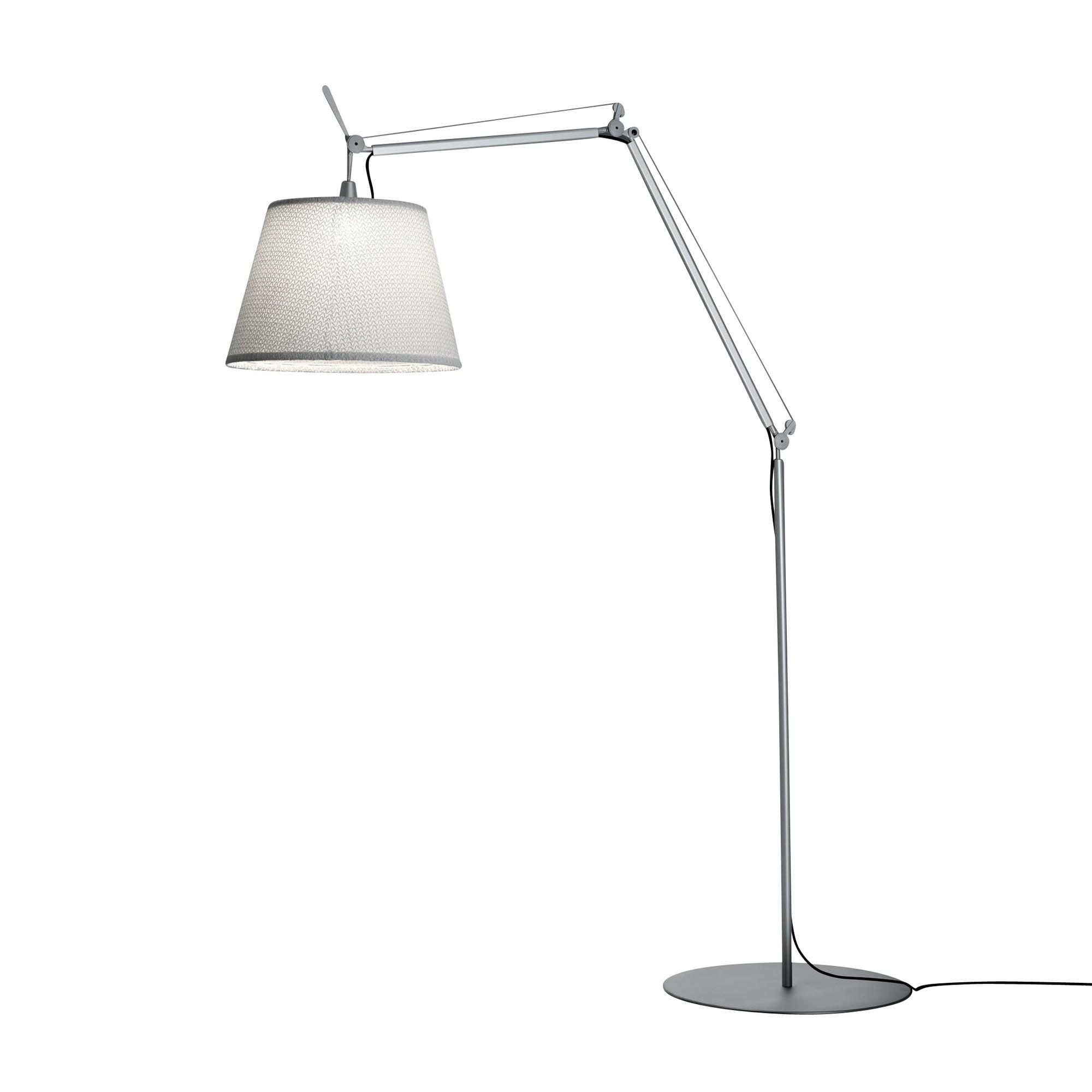 Artemide Tolomeo Paralume Led Outdoor Floor Lamp Ambientedirect
