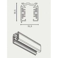 Flos - Global Pro 3-Phasen Schiene