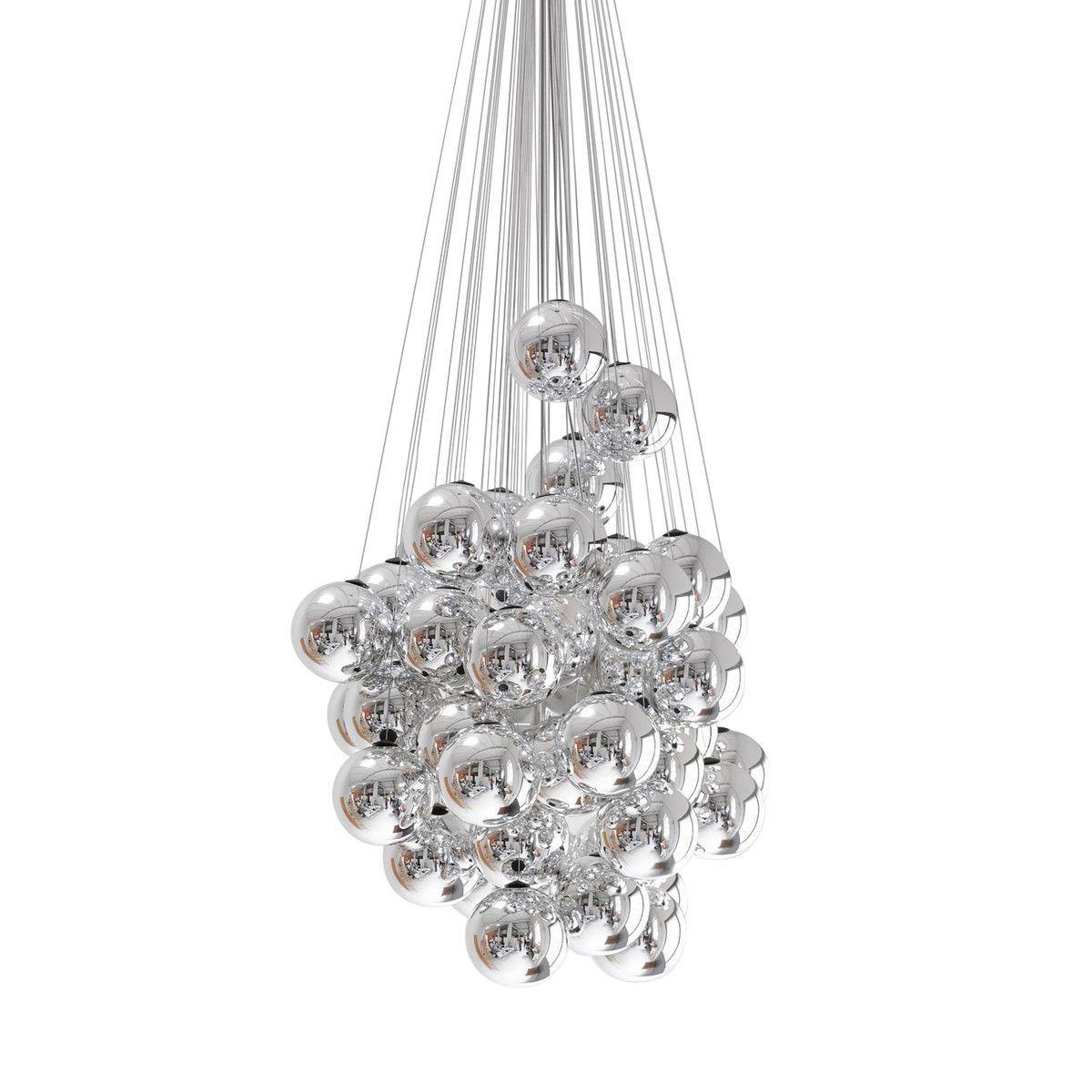 stochastic led suspension lamp