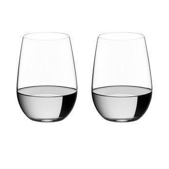 Riedel - O Wine Riesling Weinglas 2er Set - transparent/H 10,8cm, 375ccm