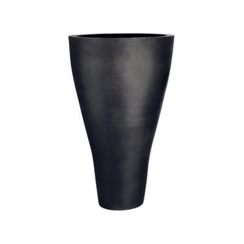 amei - amei Pflanzgefäß Der Konische XXL - schwarz/Ø59.5cm oben/Ø27cm unten/H100cm