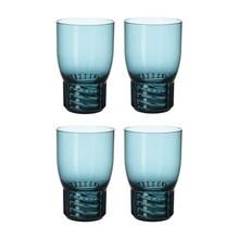 Kartell - Trama Wasserglas 4er Set