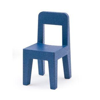 Magis - Seggiolina Pop Kinderstuhl - blau