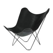 cuero - cuero Pampa Mariposa Butterfly Chair Sessel