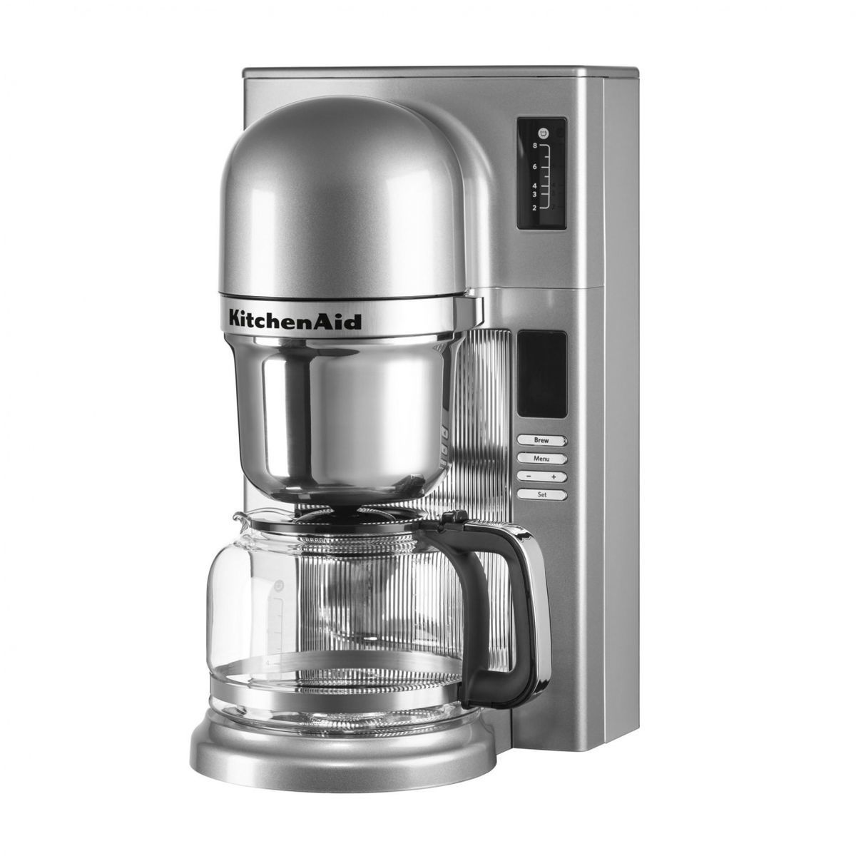 kitchenaid kitchenaid 5kcm0802 pour over coffee brewer silver28 cups