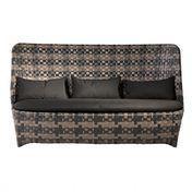 Driade - Cape West Outdoor Sofa - beige/schwarz/inkl. Kissen und Auflagen/Einzelstück
