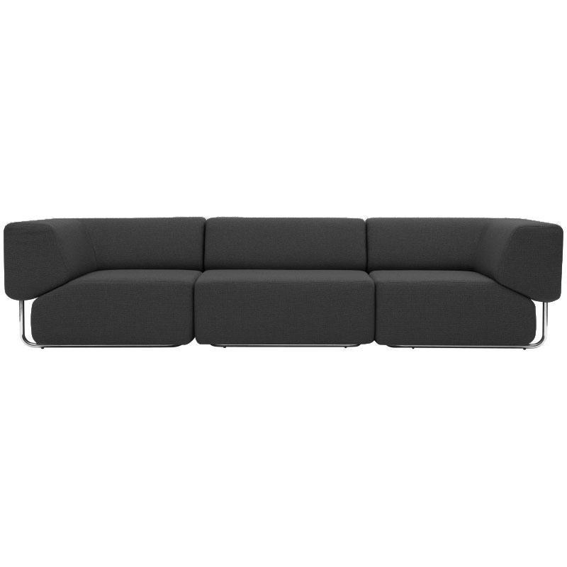 Softline Noa Sofa 3 Seater Ambientedirect, Soft Line Leather Sofa