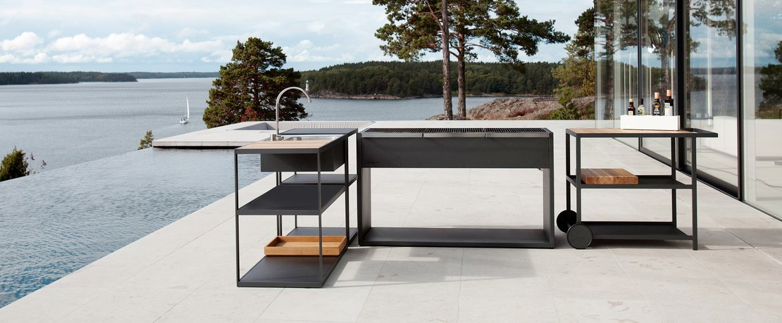 outdoor k che selber bauen stylemag by ambientedirect. Black Bedroom Furniture Sets. Home Design Ideas