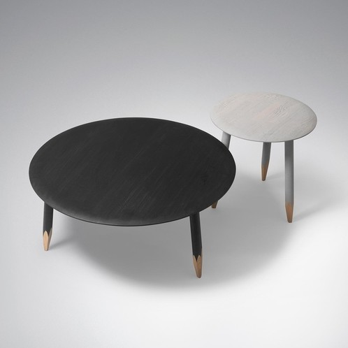&tradition - Hoof Table SW2 Beistelltisch