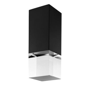 Lumen Center Italia - Pinco 21 LED Wand-/Deckenleuchte - schwarz/matt/3000K/500lm/CRI>90/inkl. Betriebsgerät