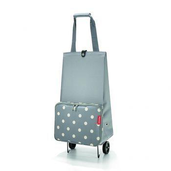 Reisenthel - Foldable Trolley - grey dots