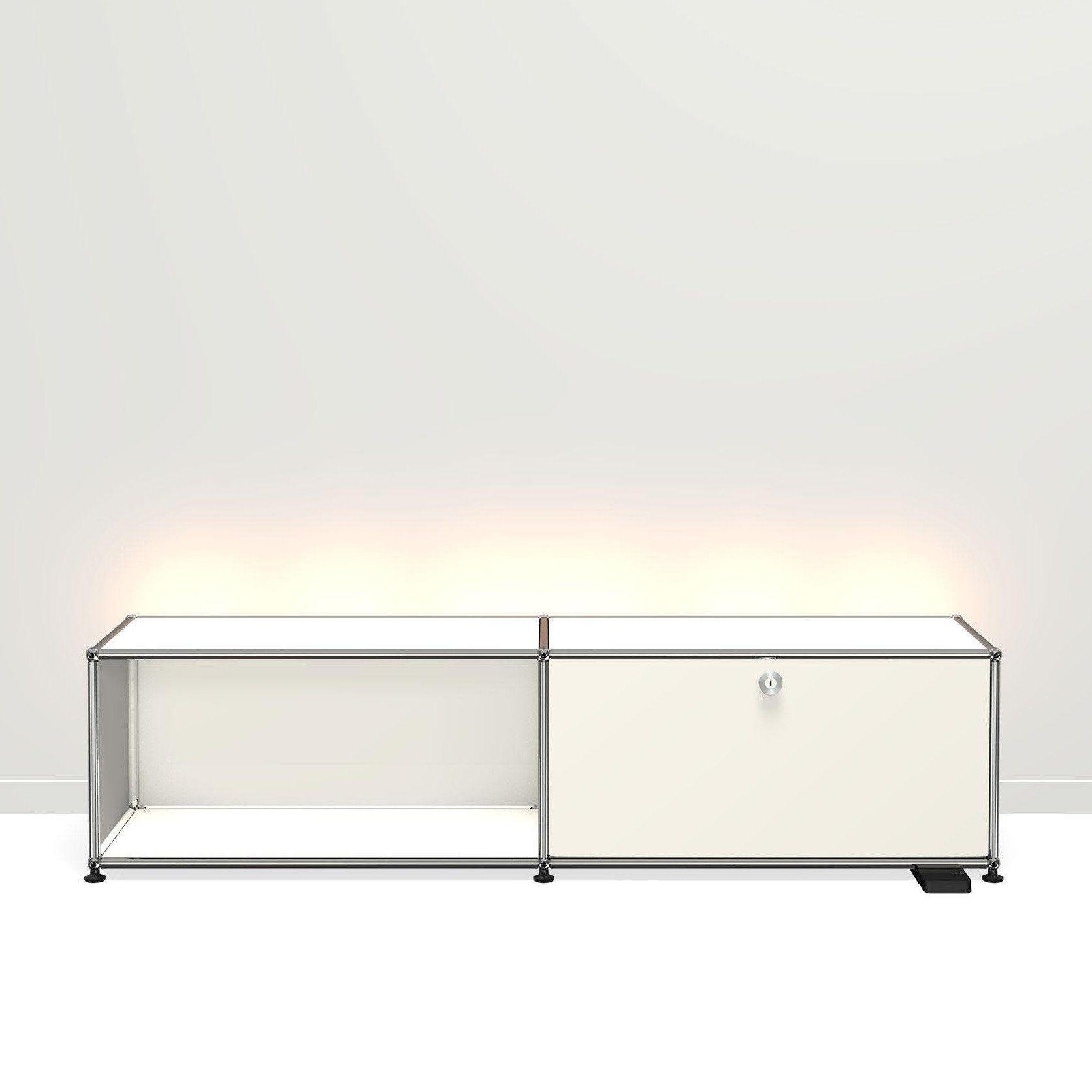 ... USM Haller   USM Haller E TV/Hi Fi Furniture With Light ...