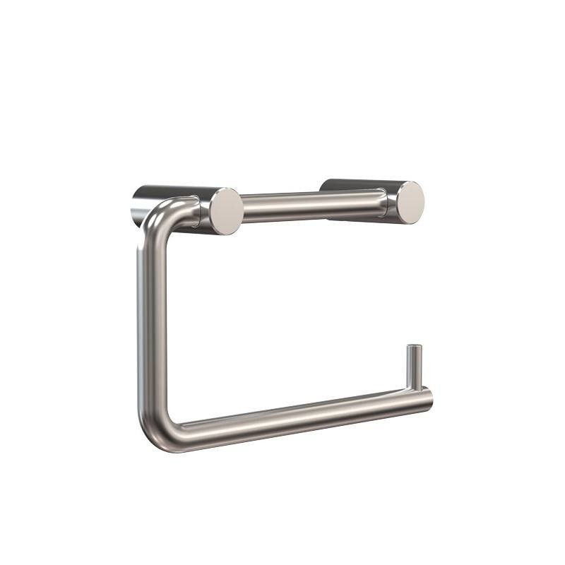 Stainless Steel Toilet Roll Holder Part - 42: FROST - Nova Toilet Roll Holder - Stainless Steel/brushed