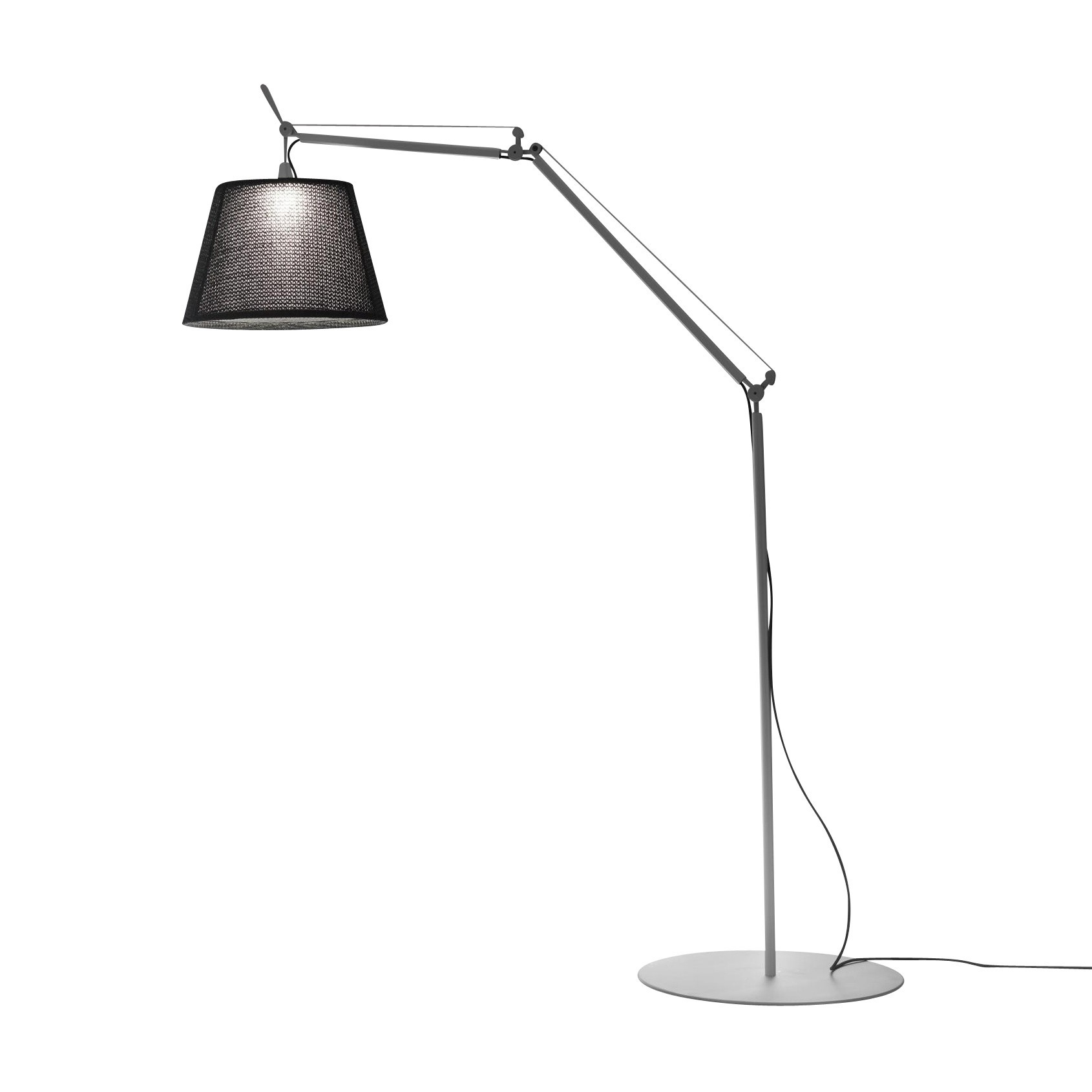 Picture of: Artemide Tolomeo Paralume Led Outdoor Floor Lamp Ambientedirect