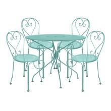 Fermob - 1900 - Ensemble de 4 chaises de jardin