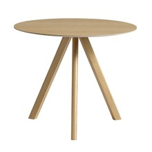 HAY - Copenhague CPH20 Dining Table Veneer Ø90cm