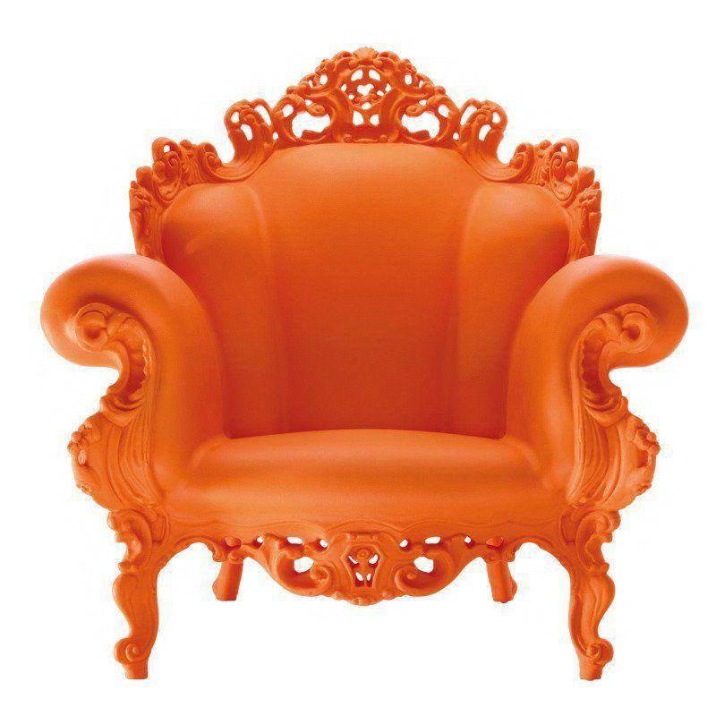 Proust Outdoor Armchair, Proust Outdoor Armchair Orange