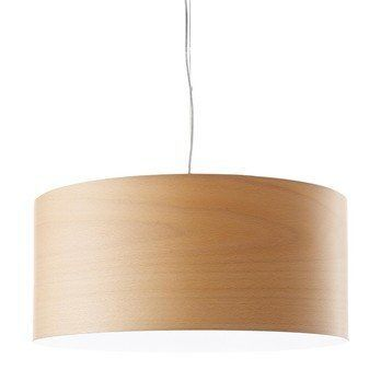 LZF Lamps - Gea S Pendelleuchte - buche/matt/Ø42cm/H20cm/ohne Leuchtmittel/Dimmer