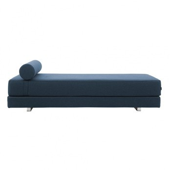 Softline Lubi Sofa Bed Day Blue Cord Edge
