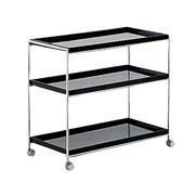 Kartell - Trays Regal mit Rollen