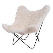 cuero - Iceland Mariposa Butterfly Chair Sessel
