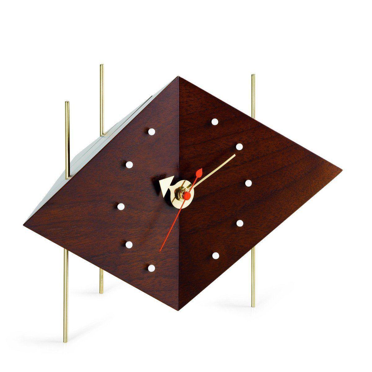 diamond clock nelson - horloge de table | vitra | ambientedirect