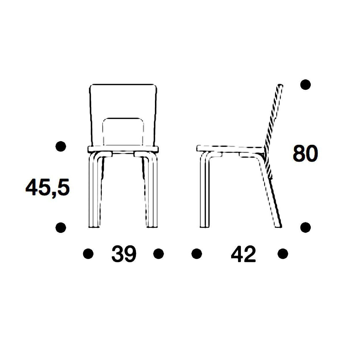 Artek 66 Chaise Artek Ambientedirect Com