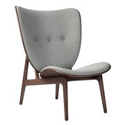 NORR 11 - Elephant Lounge Chair Dark Stained Oak Base