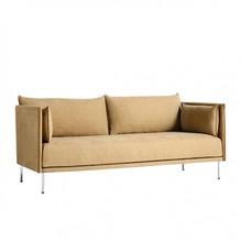 HAY - Silhouette 2 Sitzer Sofa Füße Stahl