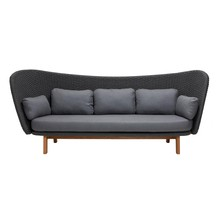Cane-Line - Peacock Wing 3-Sitzer Outdoor Lounge Sofa