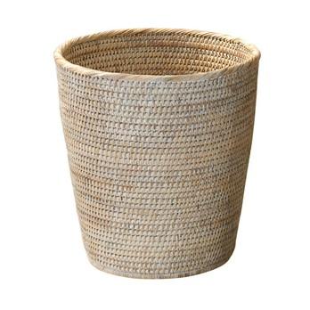 Decor Walther - Basket PK Papierkorb Rattan