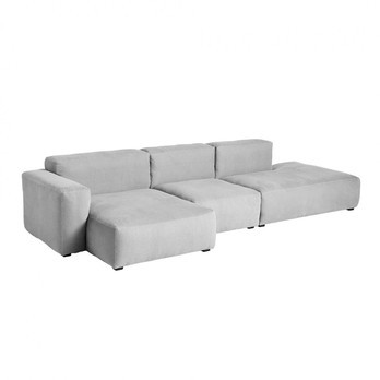 HAY - Mags Soft 3-Sitzer Sofa Armlehne niedrig 331x135,5x67cm