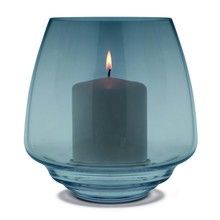 Holmegaard - Flow Candle Holder Ø18.5cm