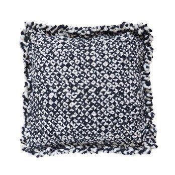 GAN - Waan Kissen - schwarz-weiß/Füllung: Polyester/50x50cm