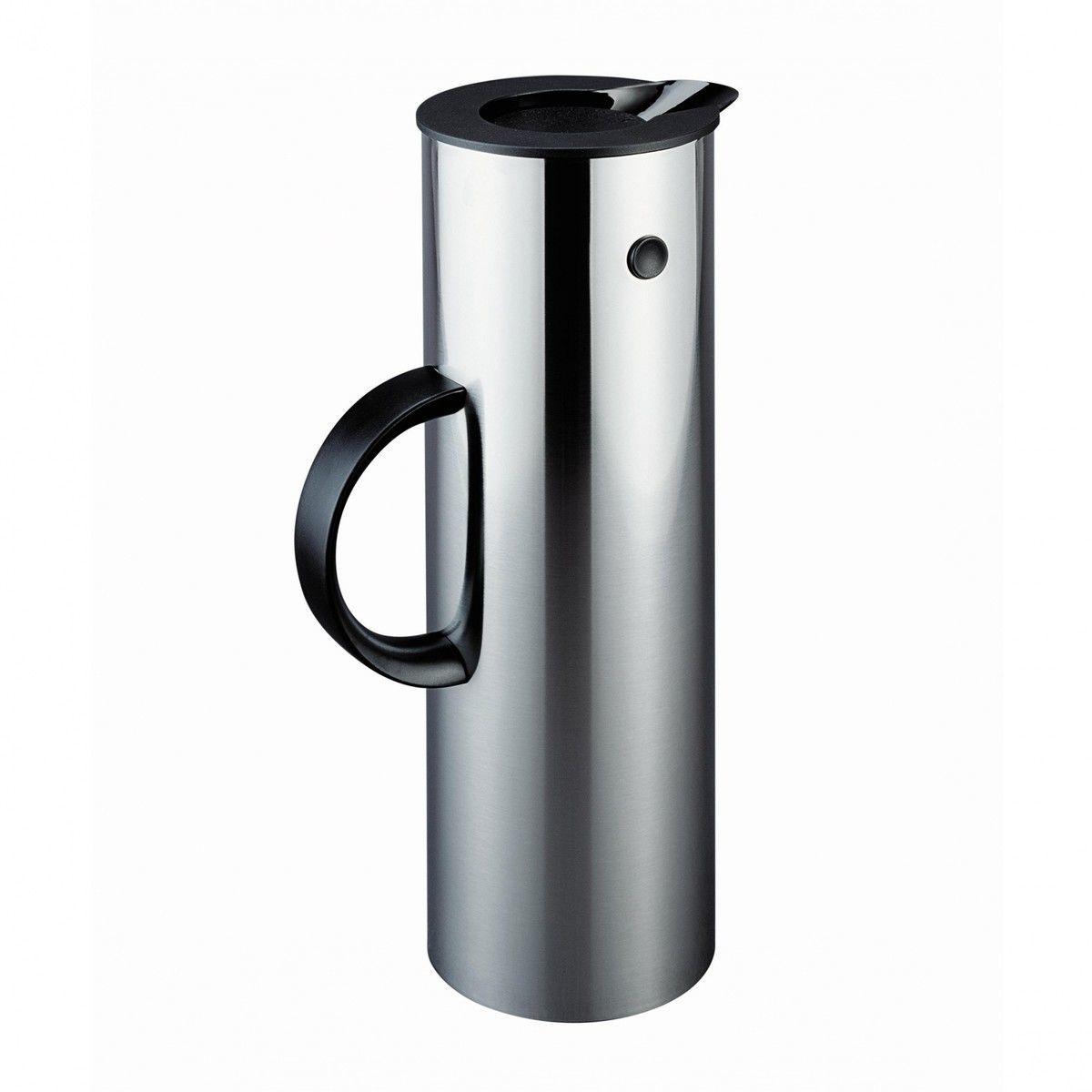 stelton vacuum jug hot metal edition 1l stelton. Black Bedroom Furniture Sets. Home Design Ideas
