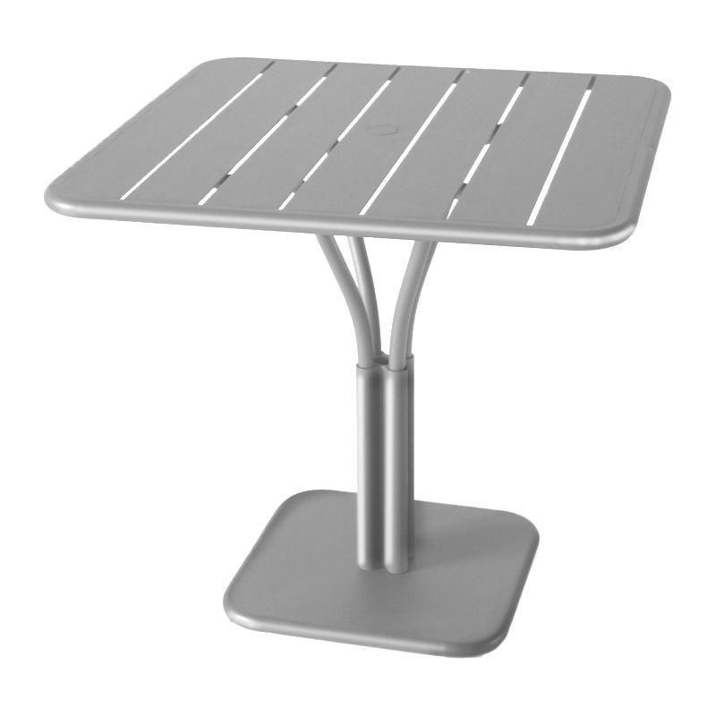 Luxembourg table de bistro 80x80x74cm fermob for Table de fois