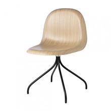 Gubi - Gubi 3D Meeting Chair - Draaistoel zwart