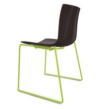 Arper - Catifa 46 0278 Stuhl Kufe farbig lackiert