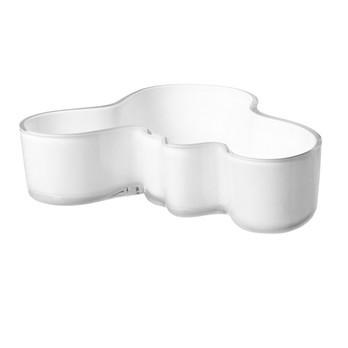 iittala - Alvar Aalto Schale 50x195mm - opal weiß/50x195mm/mundgeblasen
