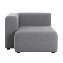 HAY - Mags Sofa-Modul Chaiselongue Links 97x127,5cm