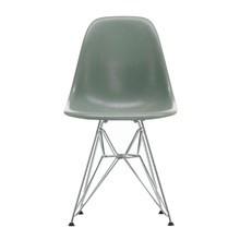 Vitra - Eames Fiberglass Side Chair DSR verchromt