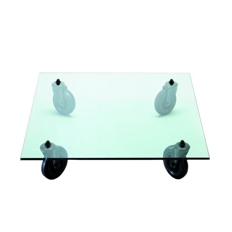 Tavolo Con Ruote Coffee Table On Rubber Wheel Fontana Arte