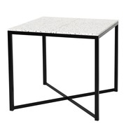 OK Design - Table à manger Confetti 80x80x75cm