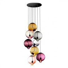 Cappellini - Meltdown Grape of 8 Suspension Lamp