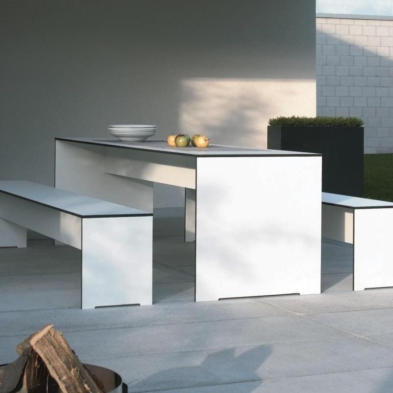 Conmoto Riva Set 180 Tisch 1 Bank Ambientedirect