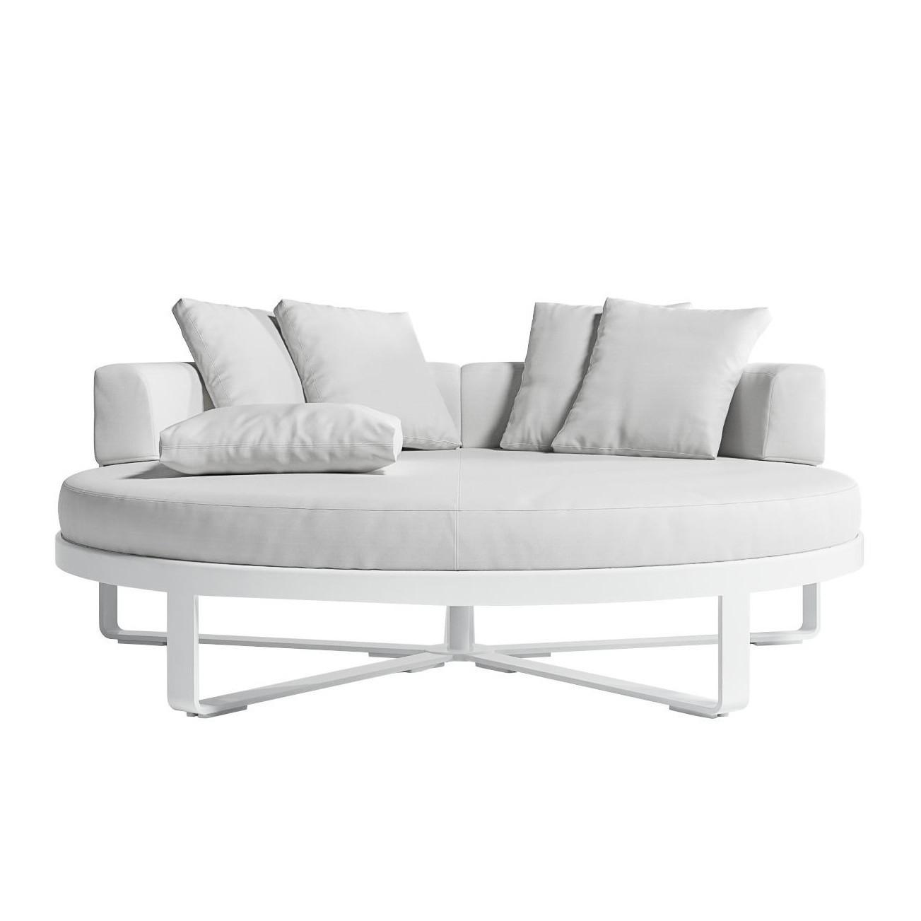 - Gandia Blasco Flat Outdoor Chill Bed Daybed Round AmbienteDirect