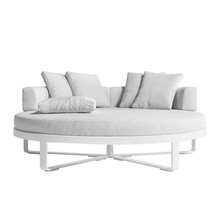 Gandia Blasco - Flat Outdoor Chill Bed - Fauteuil-Lit rond